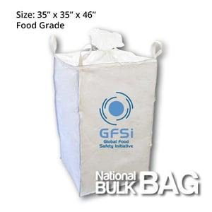 National Bulk Bag, food grade FIBC, industrial hemp and marijana