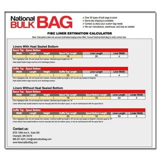 FIBC Bulk Bag Liner Estimation Calculator Icon - National Bulk Bag.jpg