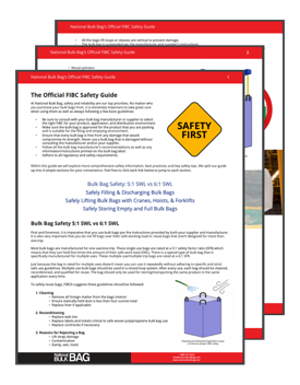 FIBC Safety Guide CTA Image - National Bulk Bag