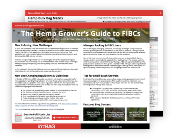 Hemp Growers Guide to FIBCs - National Bulk Bag copy 2