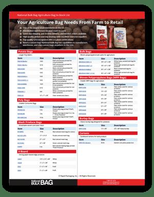 Produce Packaging In-Stock List - National Bulk Bag