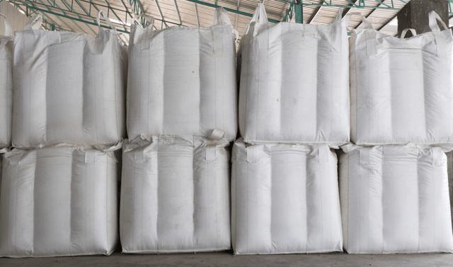 FIBC bulk bags with baffles