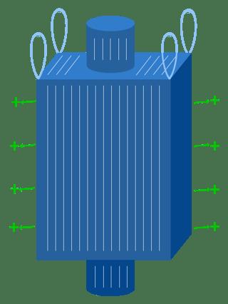 Type D FIBC bulk bags, bulk bag, Crohmiq, National Bulk Bag
