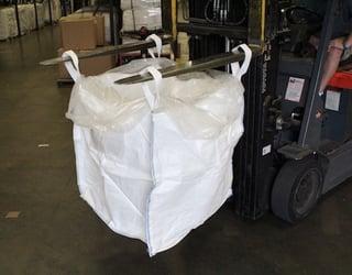 duffle top FIBC, woven polypropylene bulk bag, National Bulk Bag