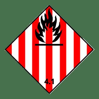Class 4.1 flammable solids, UN Bulk Bags, FIBCs, National Bulk Bag