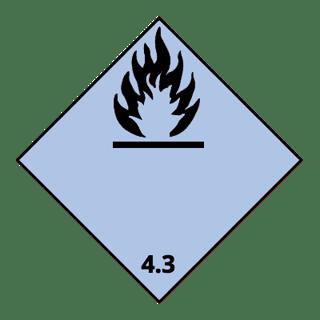 Class 4.3 flammable gases/water, UN Bulk Bags, FIBCs, National Bulk Bag