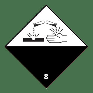 Class 8 corrosive substances, UN Bulk Bags, FIBCs, National Bulk Bag