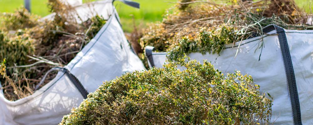 What Are Garden Waste FIBCs? National Bulk Bag
