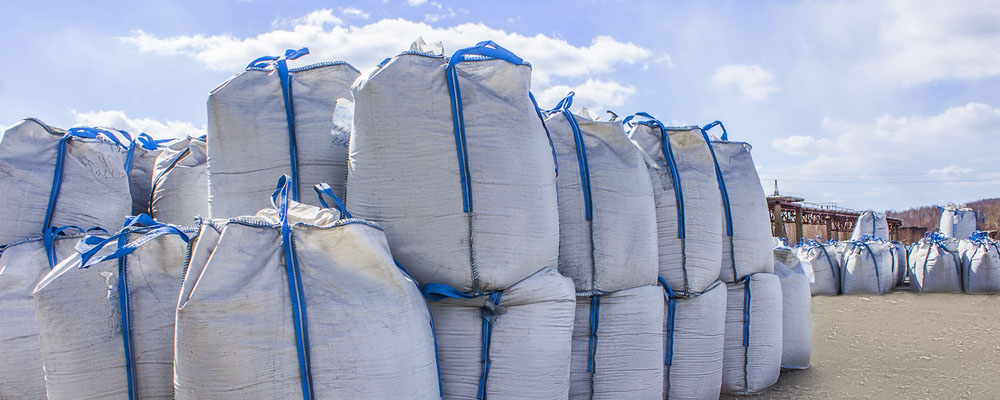 fibc, bulk bags, hemp and biomass, protect from elements